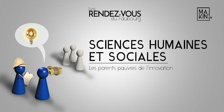 Image pour Rendez-vous du Faubourg : Sciences humaines et sociales