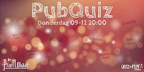 PubQuiz December | Waalwijk tickets