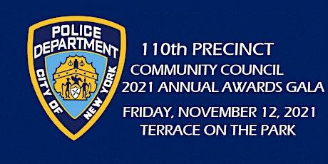 110th Precinct Community Council 2021 Annual Awards Gala tickets