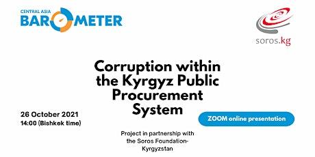 Online presentation: Corruption within the Kyrgyz Public Procurement System tickets