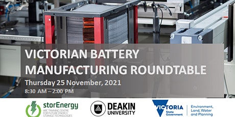 VICTORIAN BATTERY MANUFACTURING ROUNDTABLE tickets