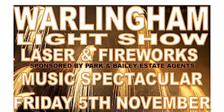 Warlingham Light Show Laser & Fireworks Spectacular tickets