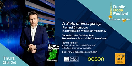 A State of Emergency: Richard Chambers in conversation with Sarah McInerney tickets