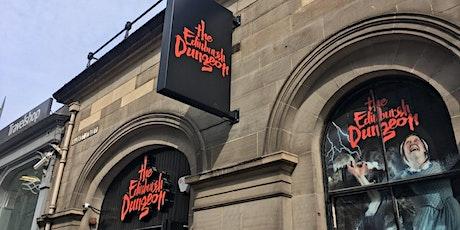 Senior trip to the Edinburgh Dungeons tickets