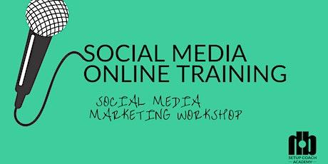 Social Media Online Training Tickets