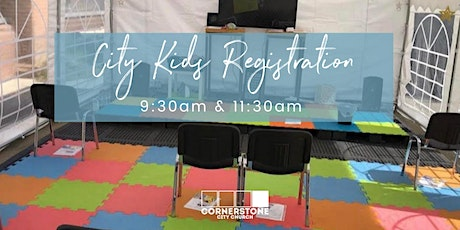 KIDS REGISTRATION - Sunday 24th October - 11.30am to 12.30pm tickets