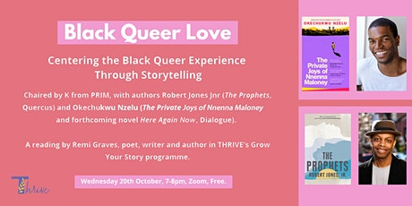 Centering the Black Queer Experience in Storytelling tickets