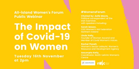 The Impact of Covid-19 on Women tickets