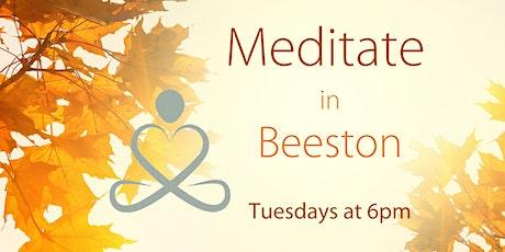 Meditation in Beeston (Tuesday evenings) tickets