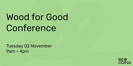 Wood for Good tickets