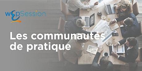 wEÞ'session - Communautés de pratique billets