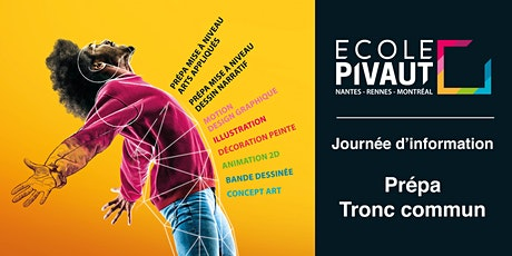 Journée d'information Prépas et Tronc commun de  l'Ecole Pivaut Nantes billets