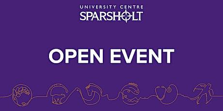 University Centre Sparsholt - Open Day - Fish, Aquaculture & Marine Studies tickets