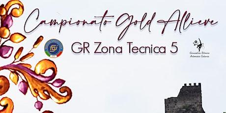 Campionato Individuale Allieve Gold GR-ZT5 biglietti
