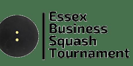 Essex Business Squash Tournament 2022 tickets