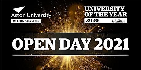 Aston University Postgraduate Open Day tickets