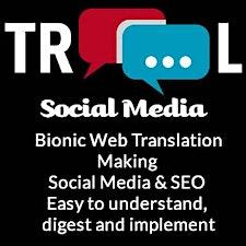 Elaine Lindsay Bionic Web Translator @ TROOL Social Media logo