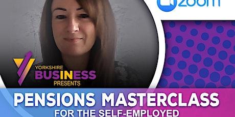 Self Employed Pension Masterclass ingressos