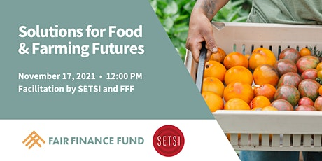 Solutions for Food & Farming Futures tickets