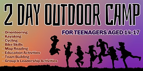 2 Day Outdoor Camp For Teenagers tickets