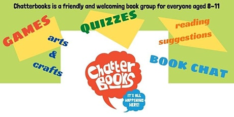 Chatterbooks - book group for 8-11 year olds tickets