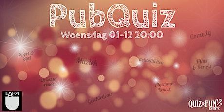 PubQuiz December | Eindhoven tickets