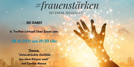 6. Treffen (virtuell) #frauenstärken Netzwerk Ingolstadt Tickets
