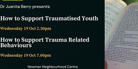 How to Support  Trauma Related Behaviour in Your Community tickets