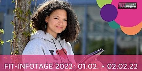 FIT-Infotage 2022 - Infomesse Tickets