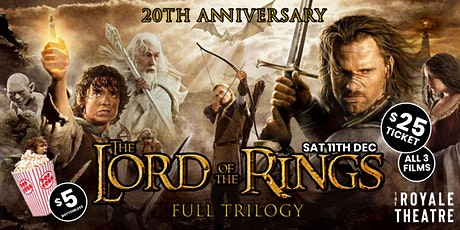 The Lord Of The Rings - Full Trilogy Screening tickets