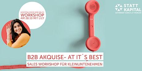 B2B Akquise Workshop Tickets