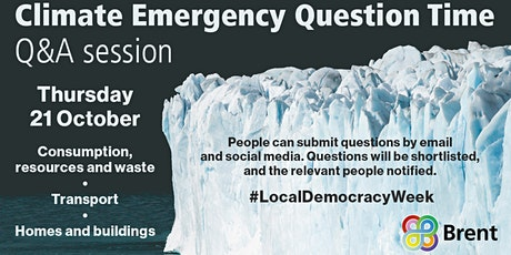 Question Time Brent: Climate and Environmental Emergency tickets
