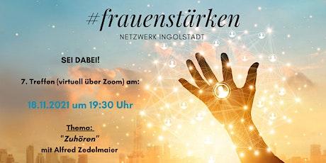 7. Treffen (virtuell) #frauenstärken Netzwerk Ingolstadt Tickets