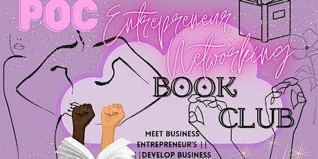 POC Women Entrepreneur Networking Book Club tickets