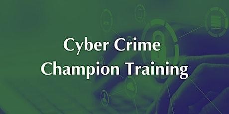 Cyber Crime Champion Training tickets