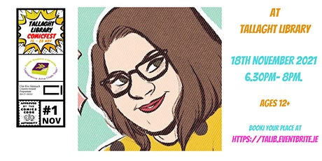 The Physical Creation of Comics with Triona Farrell tickets
