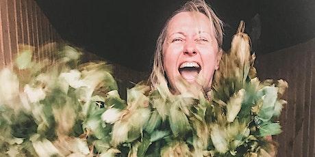 Sauna Master Training - Leaf Whisking Level 1 - International Bath Academy tickets