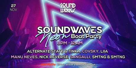 SoundWaves Boat Party XIX - Neon Night tickets