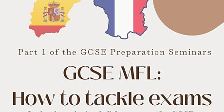 GCSE MFL - How To Tackle Exams tickets