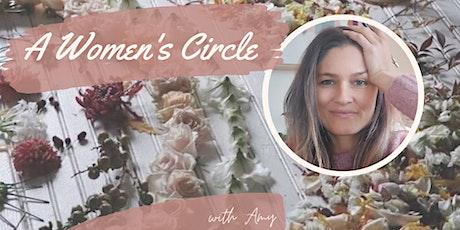 A Women's Circle - listen in and nurture tickets
