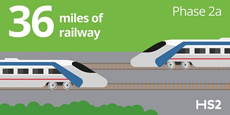 HS2 Phase 2a: West Midlands to Crewe one-to-one meetings in Weston tickets