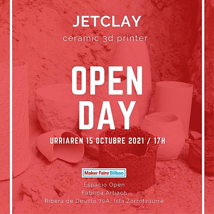 Imagen de Conferencia JetClay +OPEN DAY
