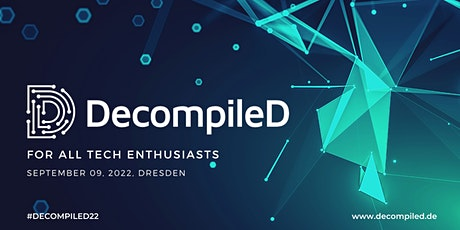 DecompileD Conference 2022 tickets
