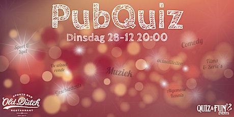 PubQuiz December | Breda tickets