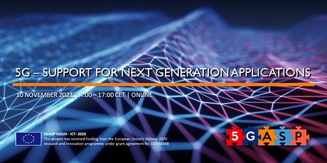 5G - Support for Next Generation Applications tickets
