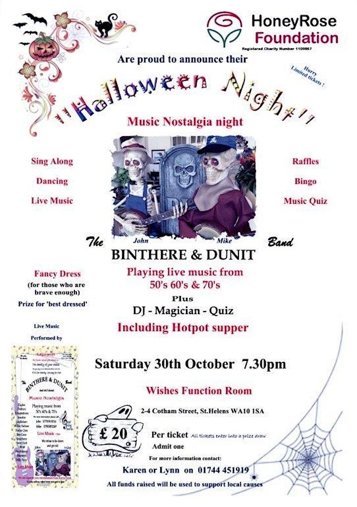 Halloween Charity Night image