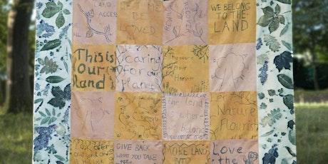 COP26: Celebrating the Land Protest Banner Making Workshop tickets