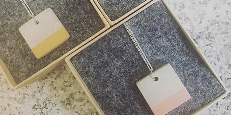 Concrete Jewellery Workshop with Black Violet tickets