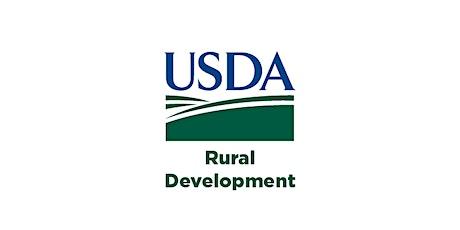 USDA Rural Workforce Innovation Network (RWIN) Workshop: Federal Funding tickets