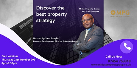 Discover Property Strategies for 2021 / 2022 tickets